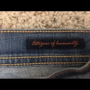 Citizens Of Humanity Jeans - COH Ingrid Cropped Jeans Womens Size 27 MINT Denim